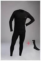 Термобелье Vaude для мужчин термокостюм  комплект термо белья +Термоноски в Подарок COLUMBIA