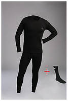 Термобелье Vaude (STIMMA) для мужчин термокостюм  комплект термо белья +Термоноски в Подарок COLUMBIA