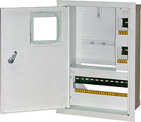 Шкаф распределительный e.mbox.stand.w.f1.16.z.e под однофазный электронный счетчик + 16 мод. с замком