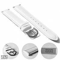 Ремешок для часов маст-хэв ZIZ белый, серебро