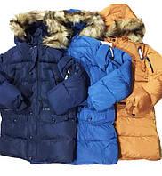 """Теплая зимняя куртка на мальчика """"Бой"""""""