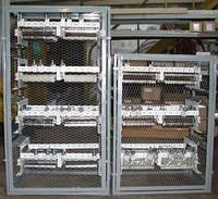 Щиты, шкафы пуско-регулирующих резисторов