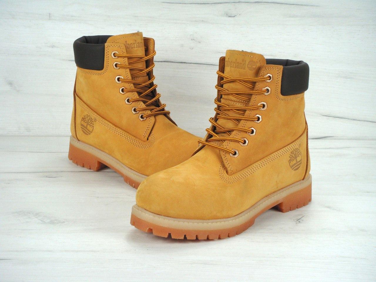 c1485cae2259 Женские ботинки Timberland 6 Inch Premium Waterproof Boots с мехом -  Shoezzy в Киеве