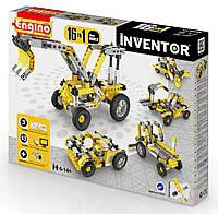 Детский конструктор INVENTOR 16 в 1 Строительная техника Engino 1634
