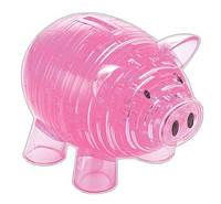 3d головоломка - Копилка Свинья розовая 3D