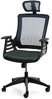 Офисное компьютерное кресло Merano headrest, Grey