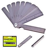 Alloid Комплект щупов для свечей зажигания Alloid, от 0.05 до 0.63 мм, 15 предм (КЩ-6026)