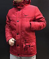 Яркая зимняя парка Nike, куртка зимняя найк