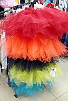 Яркие пышные юбки из фатина   для девочек