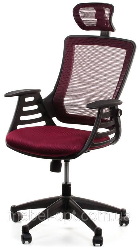 Офисное компьютерное кресло Merano headrest, Bordeaux