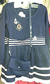 Детское вязаное платье 92-116 см Венгрия Lili Kids