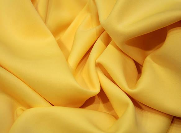 Трикотаж дайвинг желтый, фото 2