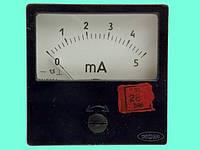 Миллиамперметр М42301 0-5мА
