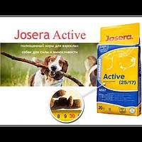 Корм для собак всех пород Йозера Актив Josera Aktive 20кг + Бесплатная доставка