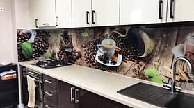 фартук из стекла на кухню с рисунком 3