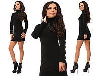 Платье женское по фигуре ,Материал: ангора, цвет черный и бордо фото реал зп №512