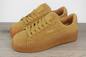 Puma by Rihanna Creeper Oatmeal low (Реплика)