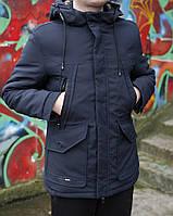 Зимняя парка мужская, модная куртка зимняя