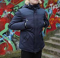 Молодежная парка зимняя, модная куртка зимняя