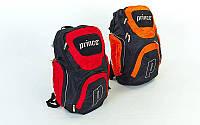 Рюкзак спортивный PRINCE 6010 BACKPACK (PL, р-р 46х30х21см, красный, оранжевый)