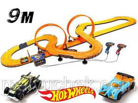 Гоночный трек на радиоуправлении Hot Wheels Хот Вилс 915 см Kidz Tech 83130