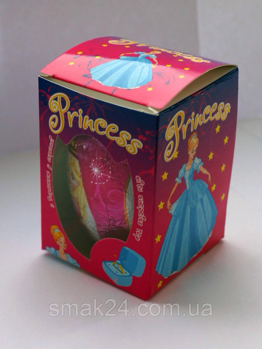 Шоколадное яйцо Princess (Принцесса) Kinder Surprise 50 г