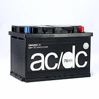 Аккумулятор 75 Ah 12V Euro (0) AC, DC