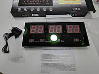 Світлодіодний настінний годинник Number clock YX-3615