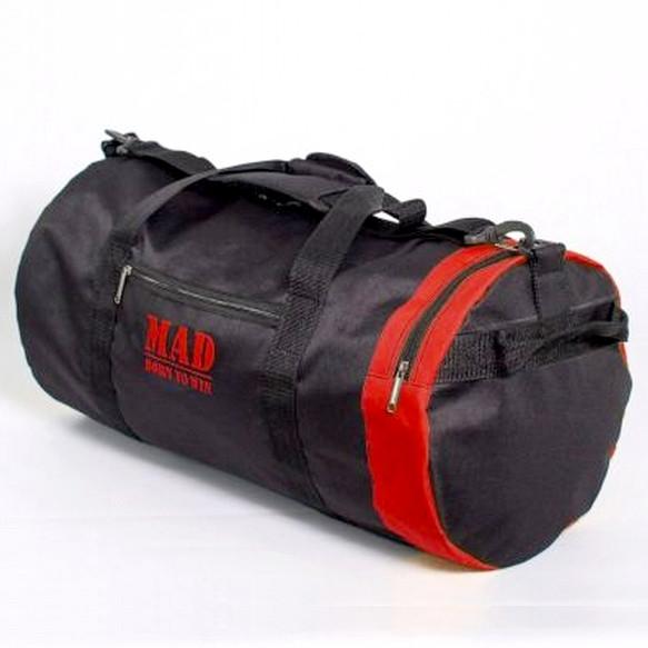 Спортивная сумка 40L черно-красная (тубус,цилиндр)