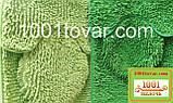 """Набор из 3-х ковриков из микрофибры """"Макароны или дреды"""" в ванную 80х50 см. и туалет 40х50 см., 45х35 см., фото 2"""