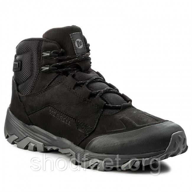 Зимние мужские ботинки Merrell Coldpack Ice+Mid Polar Waterproof J91841