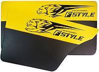 Карта двери ВАЗ 2101-07 желтая Fstyle maxi (4шт) 14302