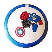 Аэромяч Hover ball Капитан ( подарок ребенку ховер бол )