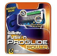 Gillette Fusion ProGlide Power Змінний катрідж 6шт.-Оригінал. Основною особливістю катріджів Fusion ProGlide є