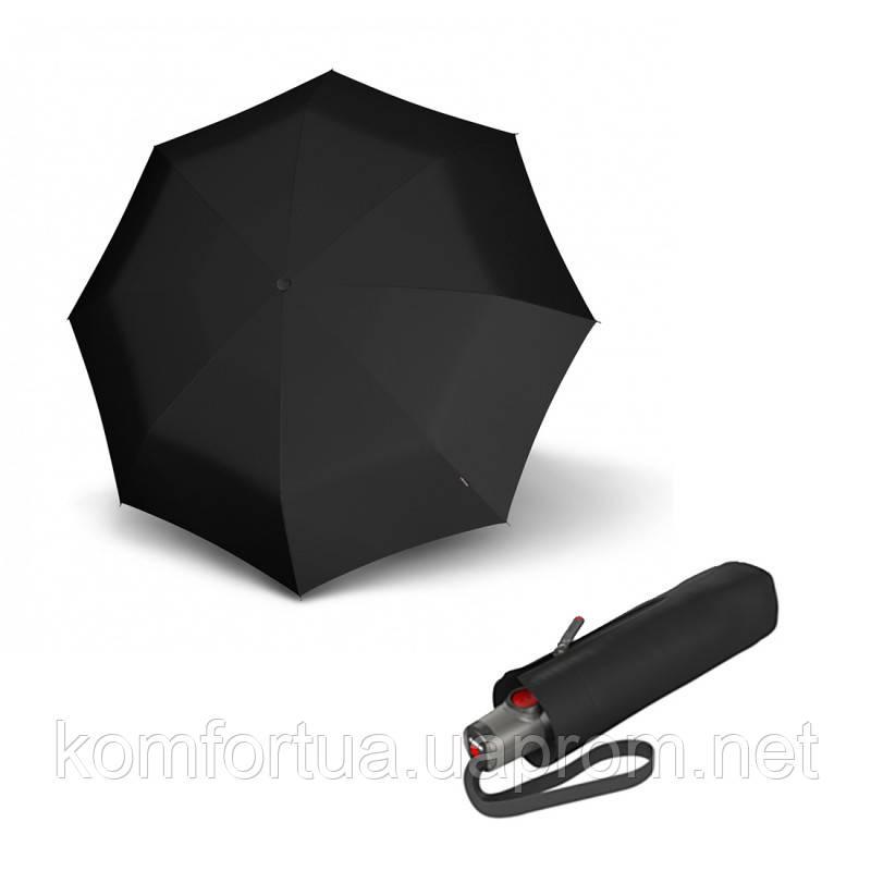 Зонт складной Knirps T.100 Small Duomatic Black автоматический