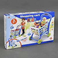"""Игровой набор 008-903 А """"Супермаркет"""" (12) тележка с продуктами, в коробке"""