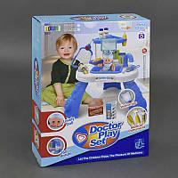 Игровой набор доктора с пупсом 8332 (8) пупс, 22 предмета, на батарейках, в коробке