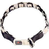 Sprenger NECK-TECH FUN строгий ошейник для собак, пластинчатый, с замком ClicLock, нержавеющая сталь , 48 см см., нержав. сталь см.
