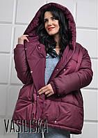 Куртка - пуховик зефирка женский очень теплый много цветов GV193, фото 1