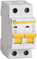 Автоматический выключатель ВА47-29 2Р 6А 4,5кА х-ка С ИЭК, фото 1