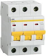 Автоматический выключатель ВА47-29 3Р 3А 4,5кА х-ка С ИЭК, фото 1