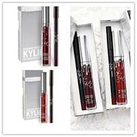 Набор Kylie матовая помада + Карандаш для губ