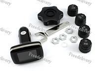 Система контроля давления в шинах TPMS в прикуриватель ЖК-дисплей USB