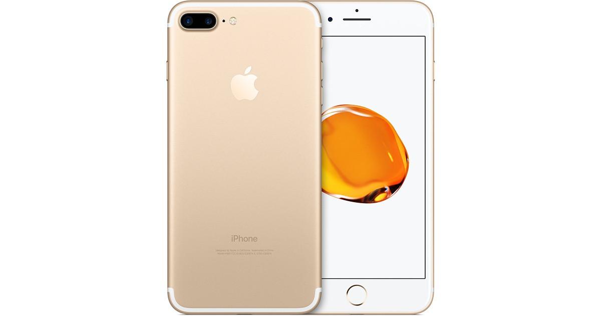 Смартфон Apple iPhone 7 Plus Gold 3/128gb 2900 мАч Гарантия 6 мес+стекло и чехол