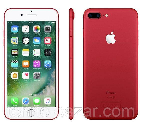 Смартфон Apple iPhone 7 Plus Product RED 3/128gb 2900 мАч Apple A10 Fusion + стекло и чехол
