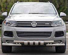 Кенгурятник на Volkswagen Touareg (c 2002--) Фольксваген Туарег