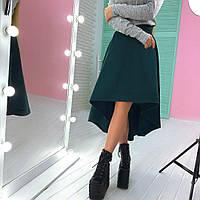 Красивая теплая юбка в расцветках АМС-1711.104(3)