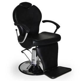 Мужское парикмахерское кресло B-17 черное, фото 2