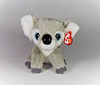 """Мягкая игрушка глазастикTY Beanie Babies 42128 Коала """"Kookoo"""" 15см"""