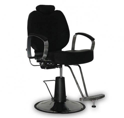 Мужское парикмахерское кресло B-15 черное, фото 2